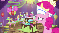 Pinkie distressed that everything is melted MLPS5