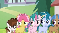 Pipsqueak and campers hear Rumble talk to CMC S7E21