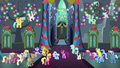 Ponies partying and dancing together S6E8.png