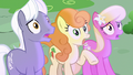 Ponies scared of Princess Ember's fire S7E15.png