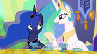 """Princess Celestia """"There's usually some crisis we have to deal with"""" S6E5"""