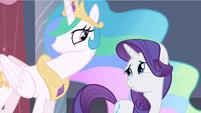 Princess Celestia to hear S2E9