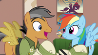 "Quibble Pants ""on page 107"" S6E13"