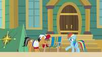 "Rainbow Dash ""of course I'd be here"" S9E6"