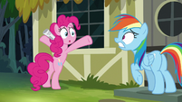 Rainbow Dash getting even more distressed S7E18