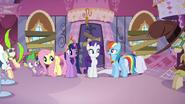 "Rainbow singing ""Applejack needs your help"" S03E13"
