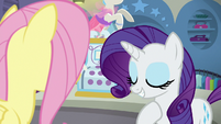"Rarity ""the real focus at Rarity For You"" S8E4"