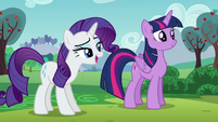 Rarity --...in order to do our best work-- S5E24