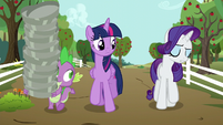 Rarity --I have been trying...-- S6E10