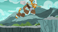Rockhoof jumping over the trench S7E16
