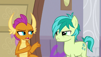 "Smolder ""we just show it differently"" S8E16"