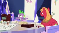 Spike --you're kind of a weirdo-- S6E17