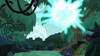 Starlight teleports out of the forest S6E21