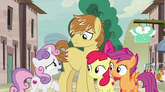 """File:Sweetie Belle """"three not-so-secret admirers"""" S7E8.png"""