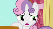 Sweetie Belle --anypony know if griffons ever get tired--- S6E19