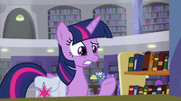 "Twilight Sparkle ""the head librarian"" S9E5"