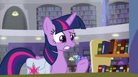 "Twilight Sparkle ""the head librarian"" S9E5"