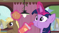 Twilight hears Pinkie S4E15