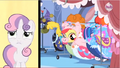 Apple Bloom's piggy head sticking out S3E4.png