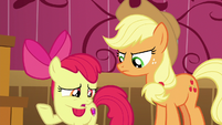 "Apple Bloom ""fix it before anypony found out"" S6E23"