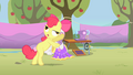 Apple Bloom with lazy eyes S1E18.png