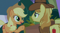 "Applejack ""some last-minute bakin'"" S9E17"