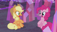"Applejack and Pinkie ""you did?"" S5E20"