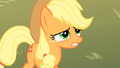 Applejack embarrassed of her sister S1E18.png