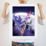 Balancing Act art print WeLoveFine