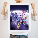 Balancing Act art print WeLoveFine