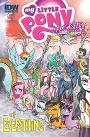 Comic issue 19 cover A
