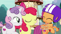 Cutie Mark Crusaders proud of themselves S6E19