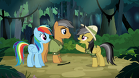 Daring Do --other side of the temple-- S6E13