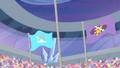 Equestria Games podium second and third S04E24.png
