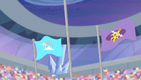 Equestria Games podium second and third S04E24