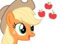 FANMADE Applejack and cutie mark.png