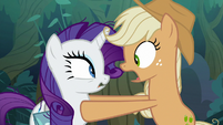"Fake Applejack ""I barely got away!"" S8E13"