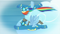 Fantasy of Rainbow flying with Wind Rider S5E15.png