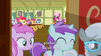 Fillies walking out the door S2E23