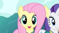 Fluttershy singing ear error S4E14