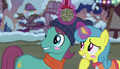 Lemon Hearts and Earth pony blushing S6E8.png