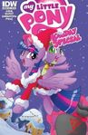 My Little Pony Holiday Special cover RE