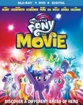 My Little Pony The Movie Blu-ray + DVD cover