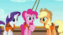 "Pinkie Pie ""something I'd like to communicate"" S6E22"