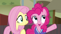 "Pinkie Pie ""the secret to good buckball"" S6E18"