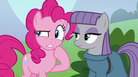 Pinkie Pie -unless they're invisible- S8E3