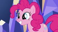 Pinkie Pie excited to be a friendship ambassador S7E11