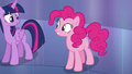 Pinkie Pie smiling at Twilight S6E1.png