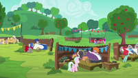 Pony pairs finishing their carts S6E14