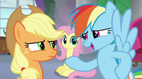 "Rainbow Dash ""a little more qualified"" S8E9"